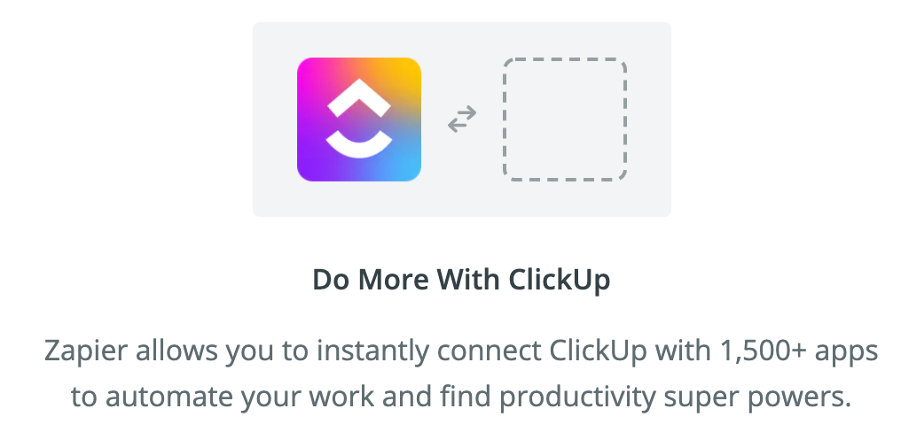 Dubsado and ClickUp integration